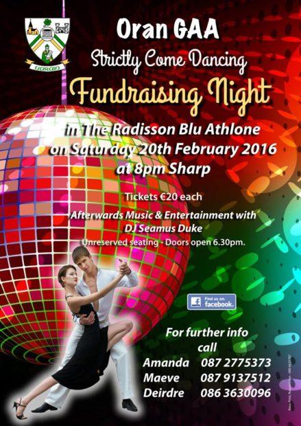 Oran GAA Strictly Come Dancing