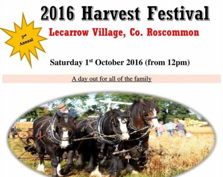 Lecarrow Harvest Festival