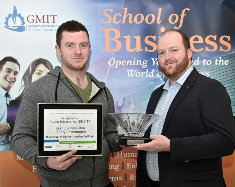 GMIT Best Young Entrepreneur Ballyforan