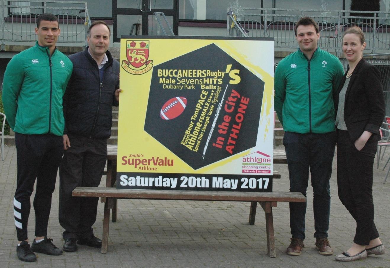 Athlone 7's in the City Buccaneers RFC