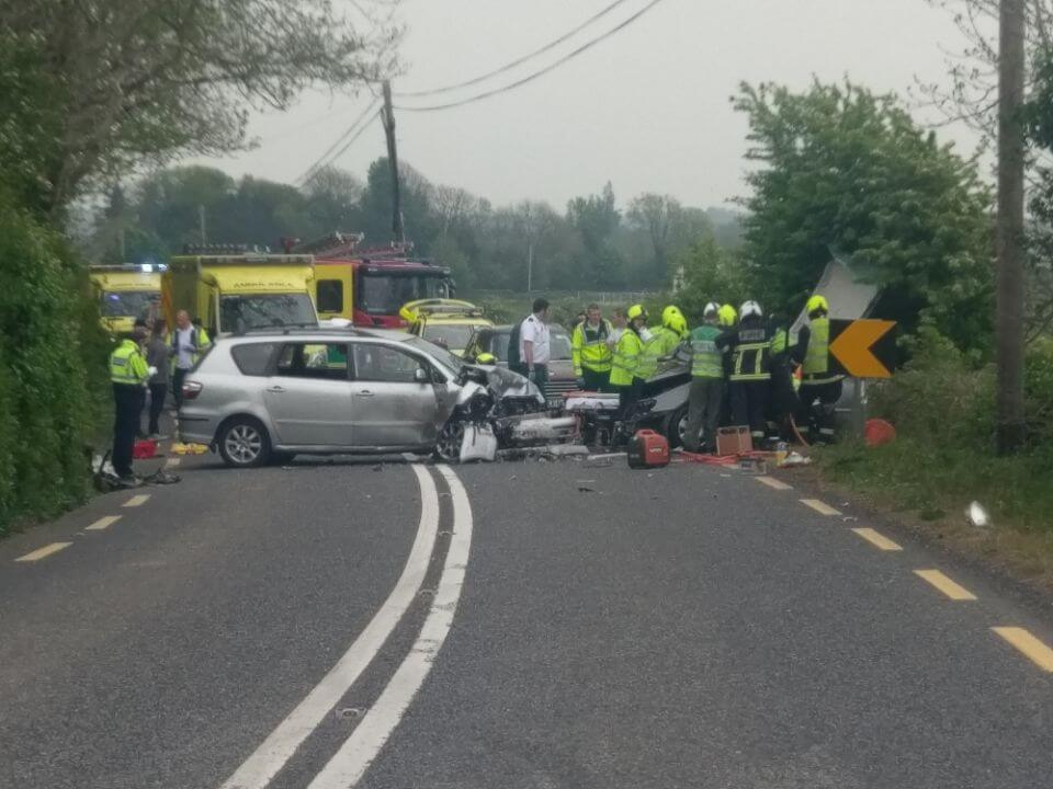 car crash near Tulsk