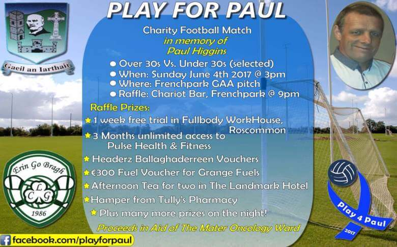 Play for Paul Western Gaels